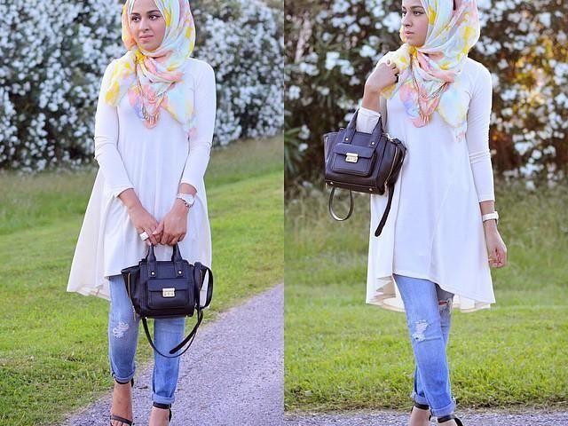 صور ملابس محجبات بسيطة سيدات مصر Fashion Women Hijab