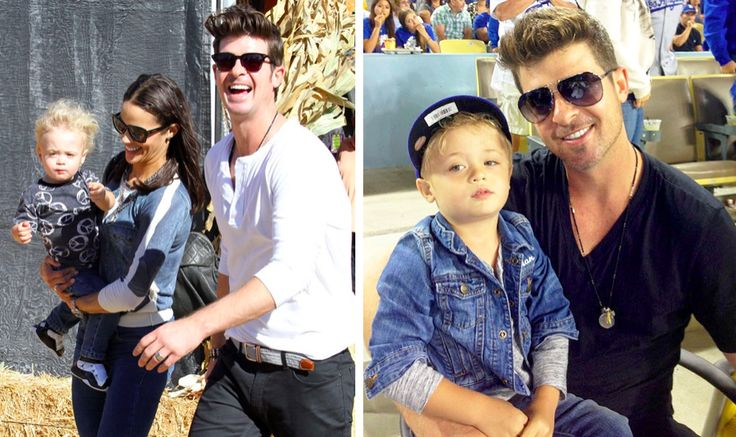 Julian Fuego Thicke Son of singer Robin Thick and Paula Patton. Robin and Paula began dating when they were only 16-years-old. They were married in 2005, and Julian was born in 2010. Unfortunately, the two have since split and are now in an intense custody battle of Julian. However, Paula has told media that Julian is still following in his father's footsteps. He already enjoys singing, playing the piano, and performing for crowds.