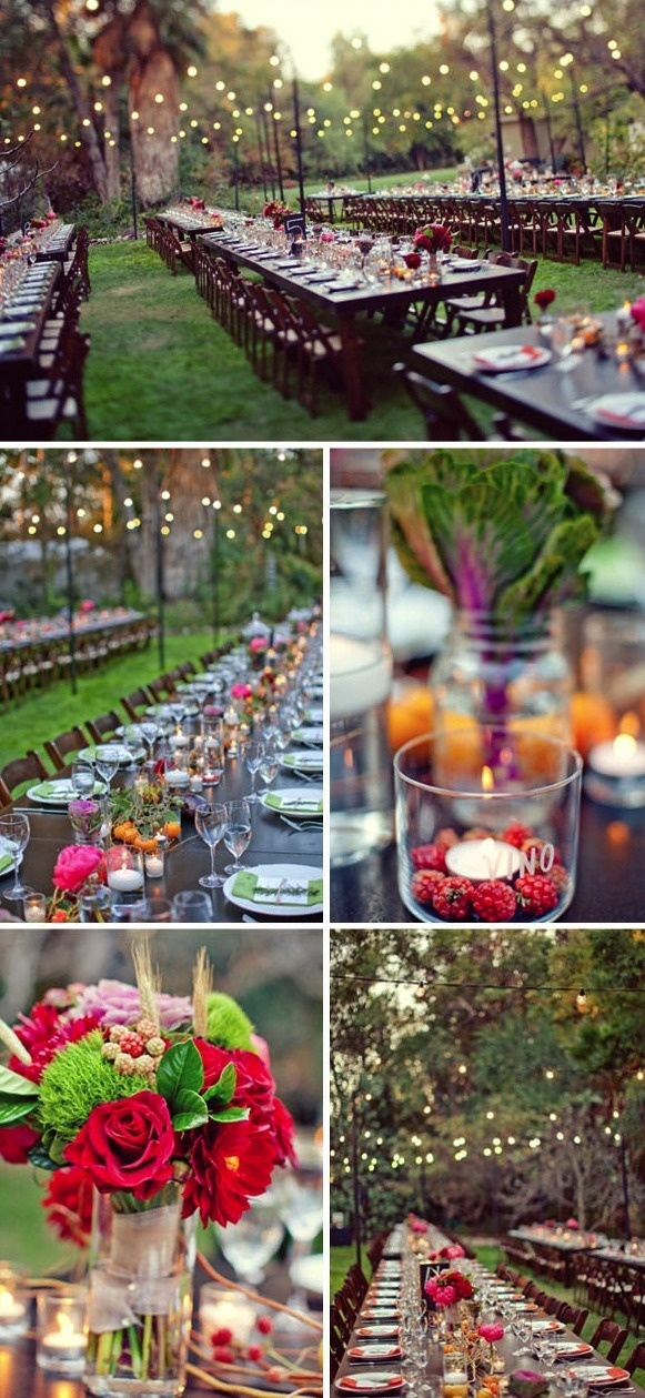 beautiful table set up…but with your fall colors, of course!