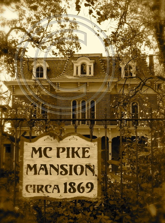 A real haunted house!  McPike Masion, Alton, IL.