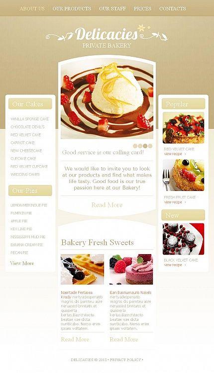 9 best ice cream websites images on Pinterest | Design websites ...