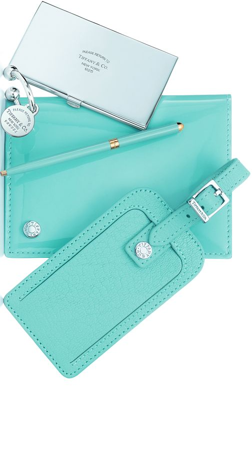 Thank You - Thank You - THANK YOU... Found the BEST gift - Tiffany luggage tag N passport holder ❤️❤️❤️