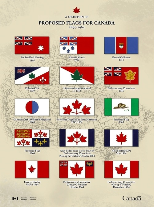 Proposed flags for Canada