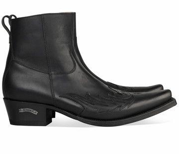Boots for men: Zwarte Sendra boots 11783 laarzen voor mannen! #cowboy #western #boots #sendra