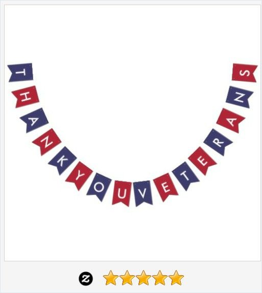 #VeteransDay Typography American Flag Colors #Veterans #Party #Bunting #JustSold #ThankYou :) https://www.zazzle.com/veterans_day_typography_american_flag_colors-256387227669516652