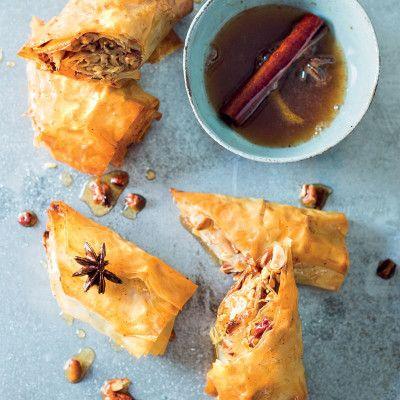 Taste Mag | Baklava rolls @ https://taste.co.za/recipes/baklava-rolls/