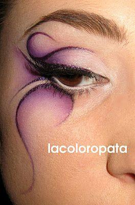 La Coloropata's fantasy look