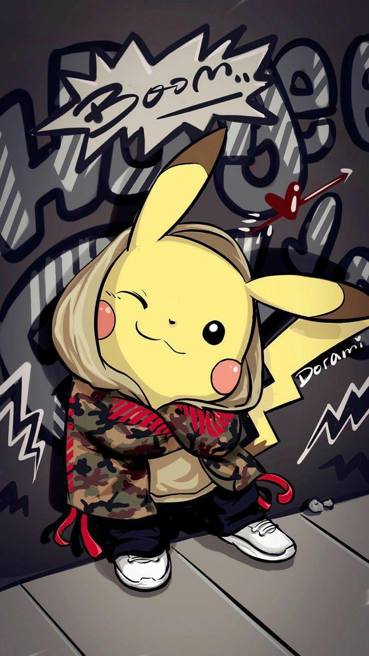 My Wallpaper in 2020 Pikachu wallpaper iphone, Pikachu