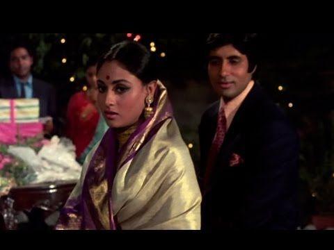 Teri Bindiya Re - Abhimaan - Amitabh Bachchan & Jaya Bhaduri - Old Hindi...