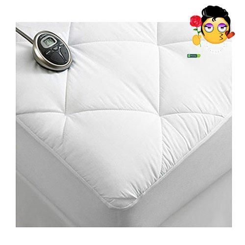 sunbeam premium luxury quilted electric heated mattress pad king size - Heated Mattress Pad King