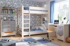 dětská patrová postel Rupi loz / 80 / pietro / l