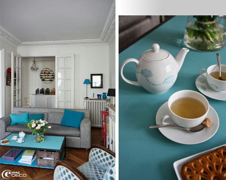 24 best Salon turquoise images on Pinterest | Home ideas, Lounges ...