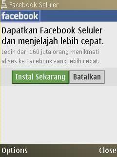 You Can Download Aplikasi facebook For Mobile  http://infonewbi.blogspot.com/2013/07/download-aplikasi-facebook-untuk-hp.html