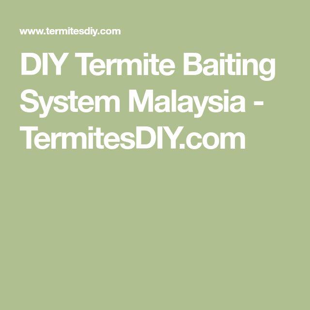 DIY Termite Baiting System Malaysia - TermitesDIY.com