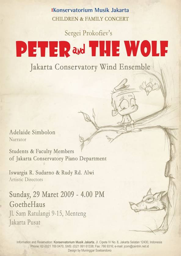 Poster for Jakarta Conservatory of Music  2009