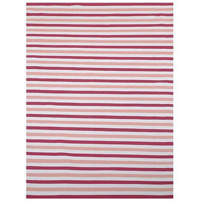 Home & More 951PK0 Outdoor Collection Indoor/Outdoor Area Rug, Pink