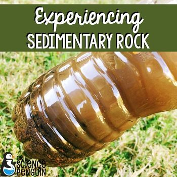 Experiencing Sedimentary Rock is a fun activity to do with your students to help them understand the processes that lead to the formation of sedimentary rock.