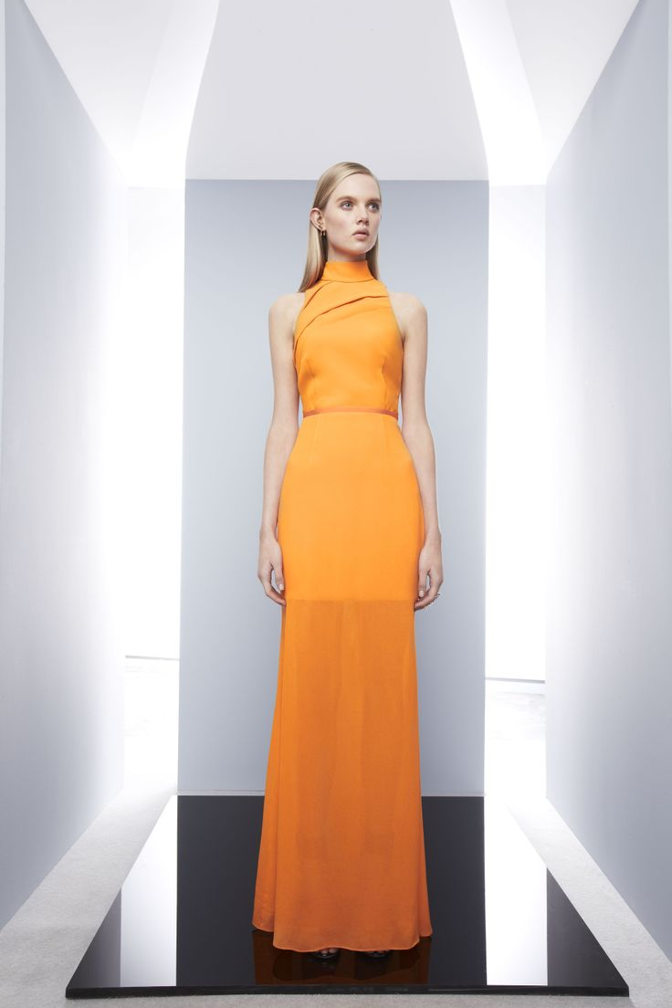 Correlation Dress by Camilla and Marc. What a divine shade of orange!