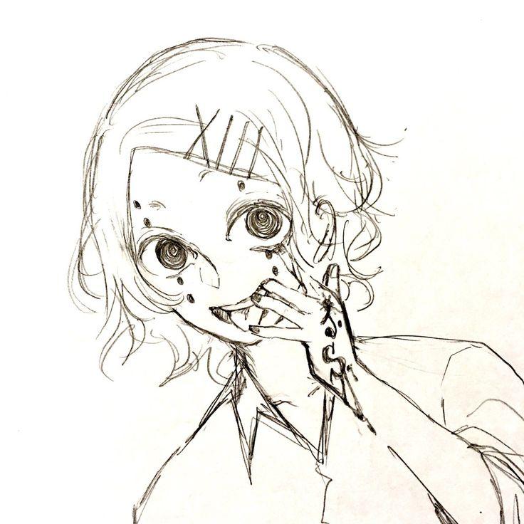 Картинки для срисовки аниме токийский гуль джузо