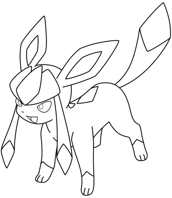 Lineart Glaceon By Kizarin On Deviantart Cizimler Pokemon