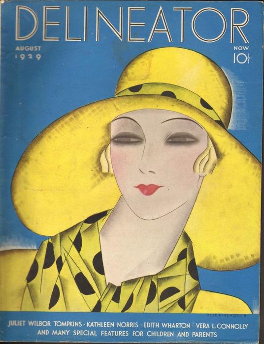 Delineator Magazine 1929 August Helen Dryden