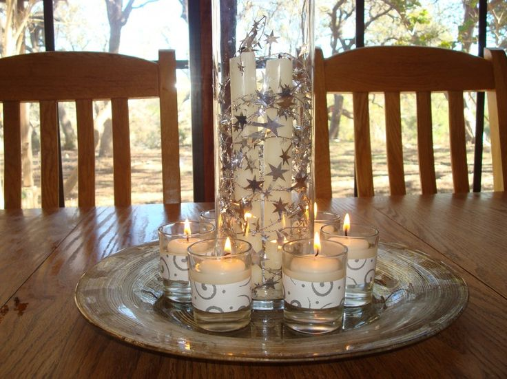 11 best images about table centrepieces on pinterest for Kitchen table centrepieces