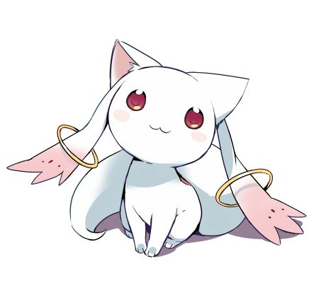 Mahou Shoujo Madoka Magica {looks can be deceiving} || *Looks at you adorably like in the pin* Wanna make a contract?