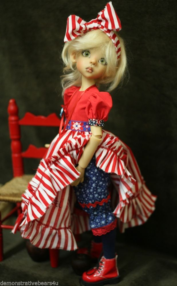 Kaye Wiggs *Little Liberty* 4th of July OUTFIT Layla 5pc Set Dollstown & OTHER
