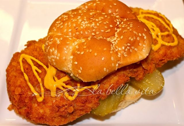 Iowa Pork Tenderloin Sandwich~ the right way to make it!  This is yummy