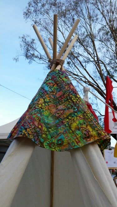 Large custom teepee topper. Great for familes, fits up to four adults and kids. Handmade Teepee's Byestelleblu