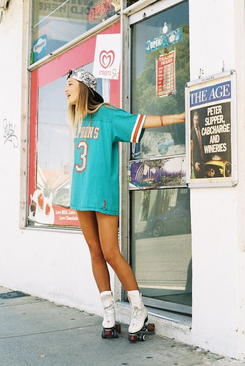 ICECOLD | via Tumblr love the oversize jersey