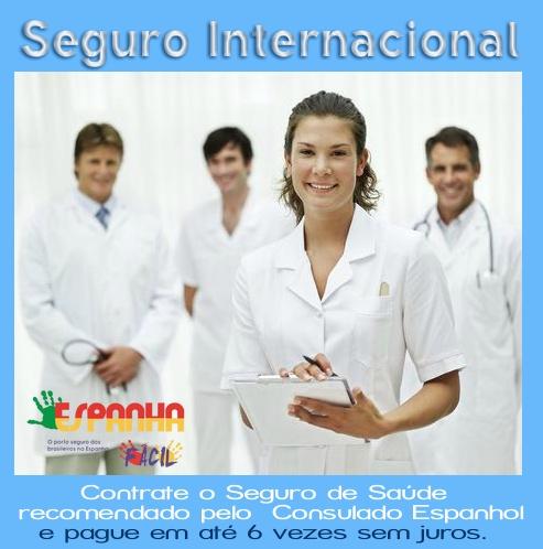 Seguro de Saúde Internacional  www.espanhafacil.com