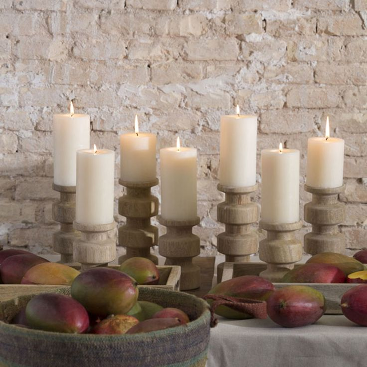 13 best porta velas de madera images on pinterest candle - Decoracion de velas ...