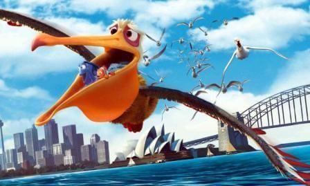 Nigel is a Brown Pelican: Finding Nemo