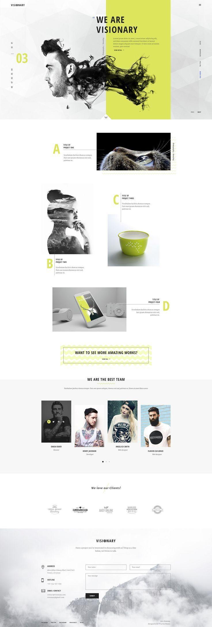 Creative Web Themes #DESIGN #WEB