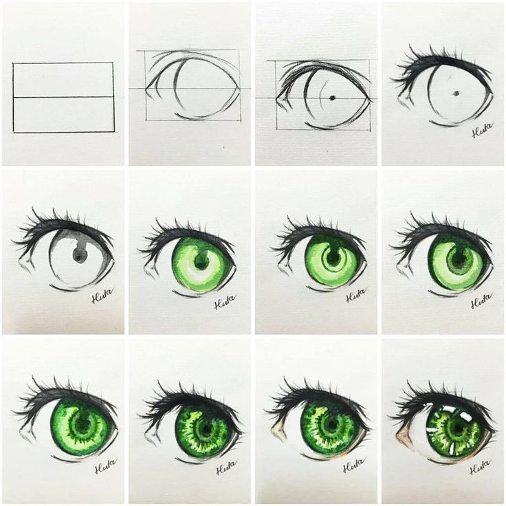 Tut draw eye.... #tutorial #eye#drawing #watercolor