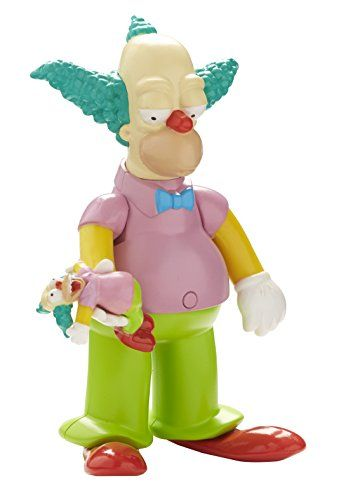 The Simpsons - Krusty le Clown - Figurine Parlant Anglais 14 cm