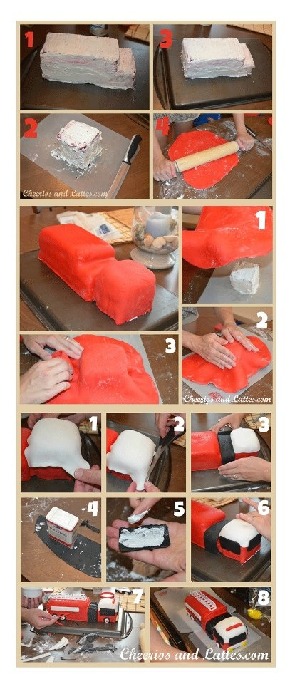 Cake Decorating How To Make Fire : Pin by Nelli H on Anleitungen Pinterest
