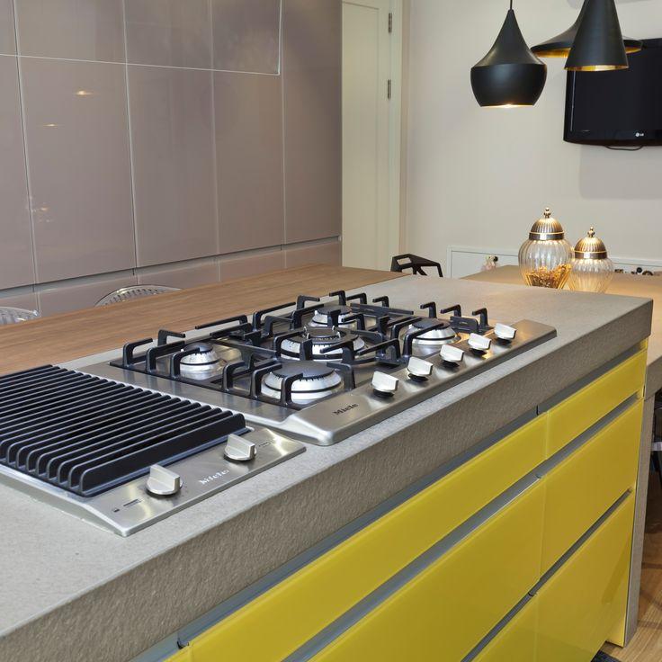 Sem Collections, Çekmeköy Villa project... Valcucine kitchen.