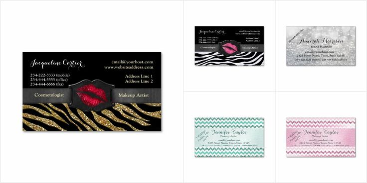 Bling Magnetic Business Cards