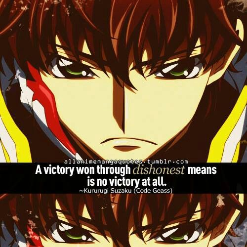 code geass lelouch and suzaku relationship quotes