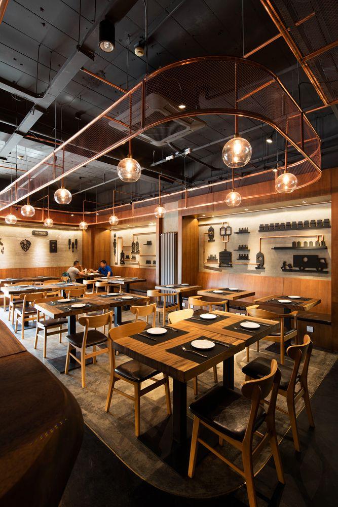 Dongli Brewery Restaurant Beijing, China.