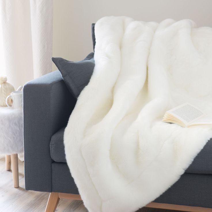 1000 id es sur le th me plaid fourrure sur pinterest. Black Bedroom Furniture Sets. Home Design Ideas