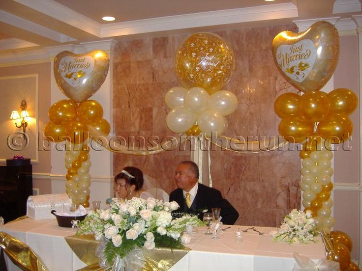17 best images about aniqua and blake wedding on pinterest for Balloon decoration for wedding reception