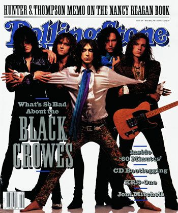 The Black Crowes... one of my favorite bands of all time.  Something about Chris Robinson's voice...
