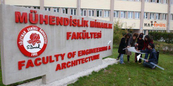 Suleyman Demirel Universitesi Muhendislik Fakultesi Nenerede Web Sitemiz Www Nenerede Com Tr Muhendislik Ogretim Cevre Muhendisligi
