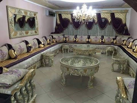 Design salon marocain 2017 غاية في الأناقة الصالون المغربي - YouTube