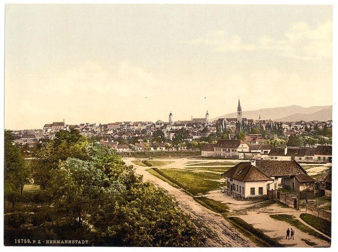 Hermannstadt. #vintage photochrom postcard images