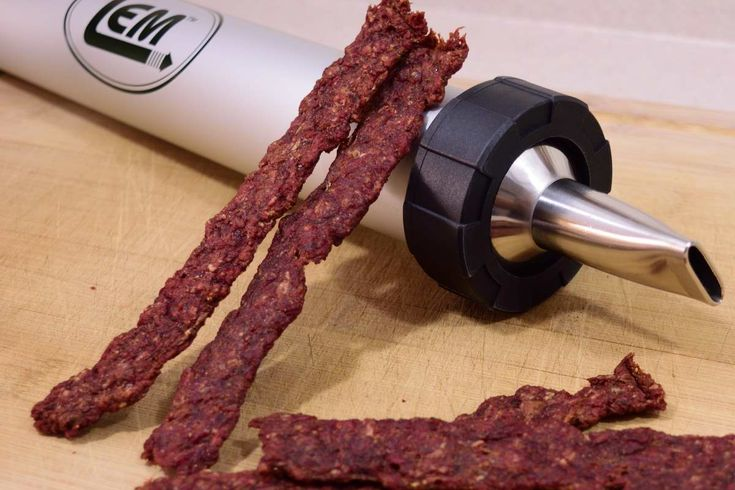 This original ground beef jerky recipe is rich and flavorful as well as easy and quick to make! No marinating required. Everyone will love these!