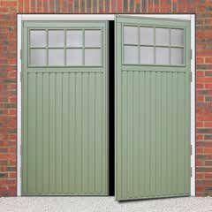 Side hinged garage doors are incredibly popular for those who prefer pedestrian access to their garage or maybe don't have the head room available for another type of door. Depending on your choice of design, both a 50/50 split and 70/30 are available. They come right hand opening as standard but left hand opening is …
